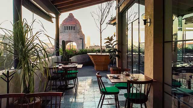 Terraza Cha Cha Chá Rooftop Bar In Mexico City The