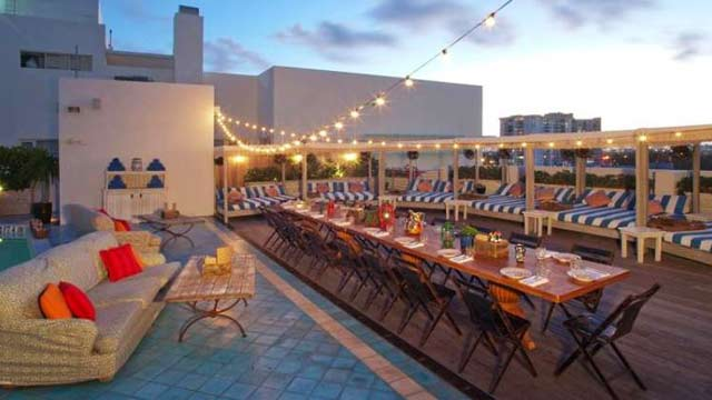 Ocho At Soho Beach House Rooftop Bar In Miami The