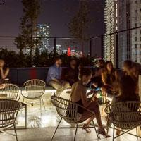 Rooftop bar Miami Pawn Broker in Miami