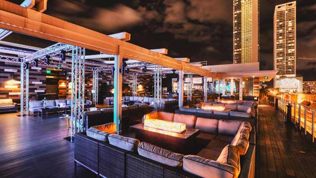 Rooftop Rooftop at E11even in Miami