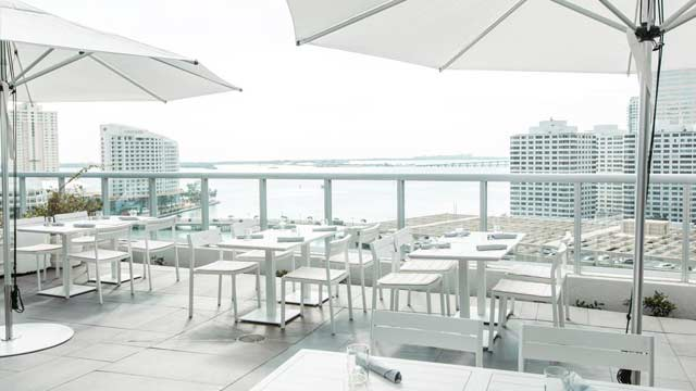 ADDiKT at W Miami - Rooftop bar in Miami   The Rooftop Guide