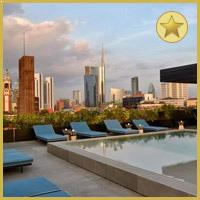 Rooftop bar Milan Ceresio 7 in Milan