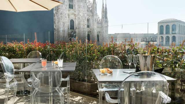 Duomo 21 Terrace Rooftop Bar In Milan The Rooftop Guide