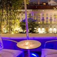 Rooftop bar Milan Globe in Milan