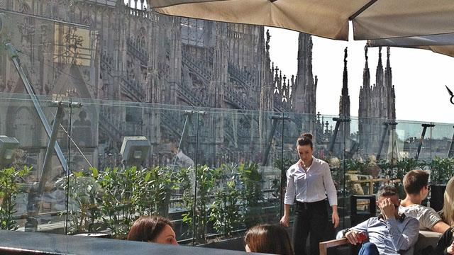 La Rinacente - Rooftop bar in Milan | THEROOFTOPGUIDE.COM