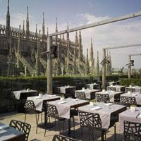 Rooftop bar Milan La Rinascente in Milan