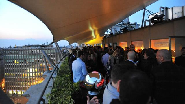 Rooftop bar Milan The Terrazza Ramazotti in Milan