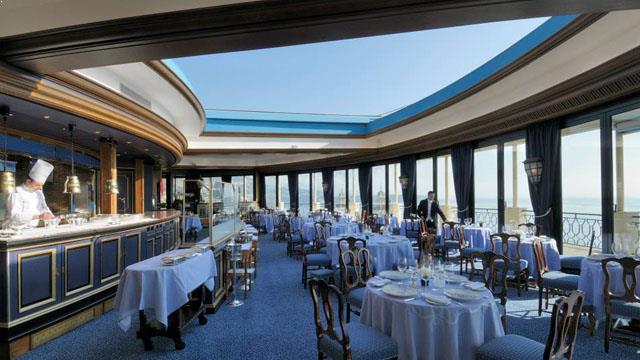 Restaurant Le Grill Hotel De Paris Monaco