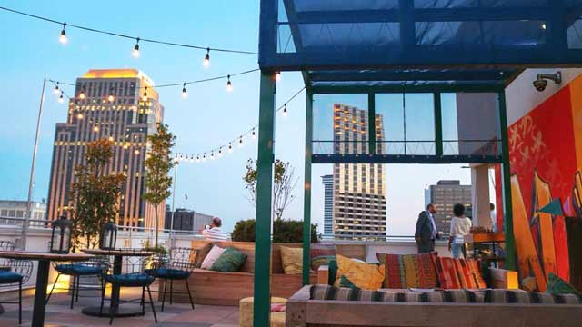 Monkey Board Rooftop Bar In New Orleans The Rooftop Guide
