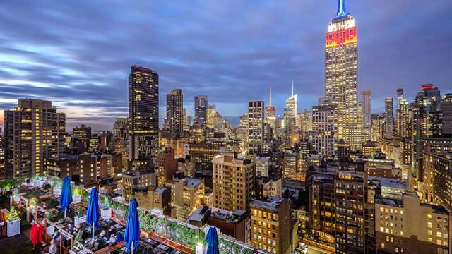 Rooftop Bars Nyc >> Press Lounge - Rooftop bar in New York, NYC ...