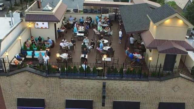 Bourbon Street Rooftop Bar In New York Nyc The