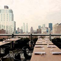 Rooftop in NYC Hotel Americano in New York