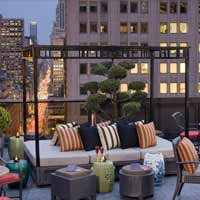 Rooftop in NYC Salon De Ning in New York