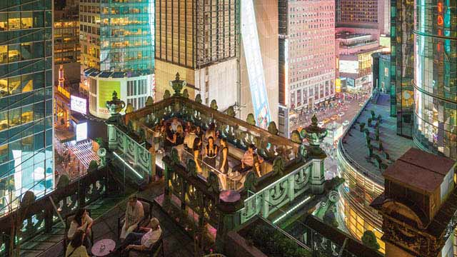 St Cloud Nyc Rooftop Bar In New York Nyc