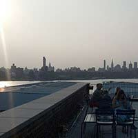 Rooftop in NYC The Ides at the Wythe Hotel in New York