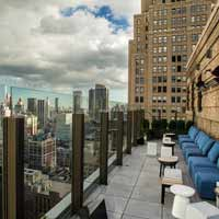 Rooftop in NYC The Skylark in New York