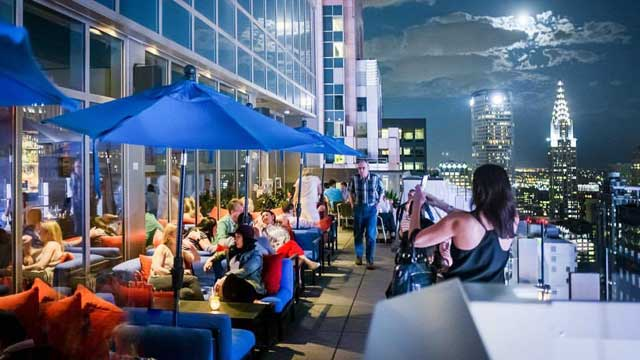 Bar 54 - Rooftop bar in New York, NYC | The Rooftop Guide
