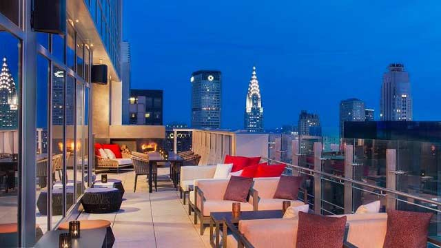 NYC Rooftop Bar: Bar 54