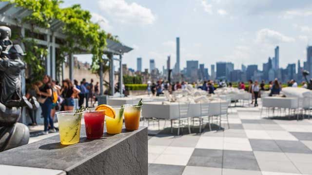 The Cantor Roof Garden Bar Rooftop Bar In New York Nyc