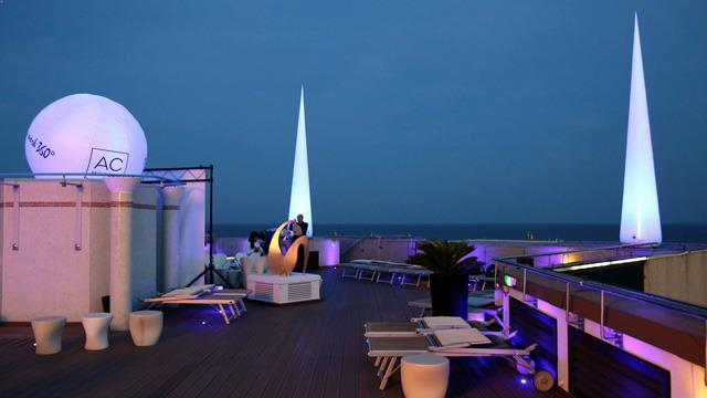 Rooftop bar Nice Rooftop 360° at AC Hôtel by Marriott Nice in Nice