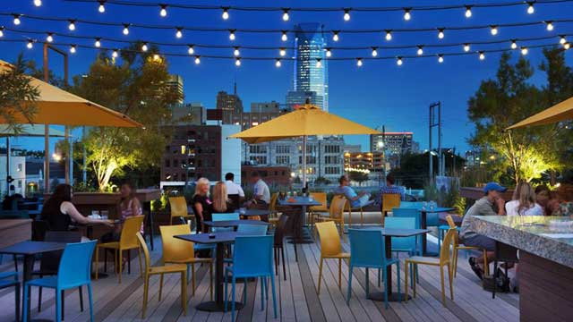 Best Rooftop Bars In Oklahoma City 2019 Update