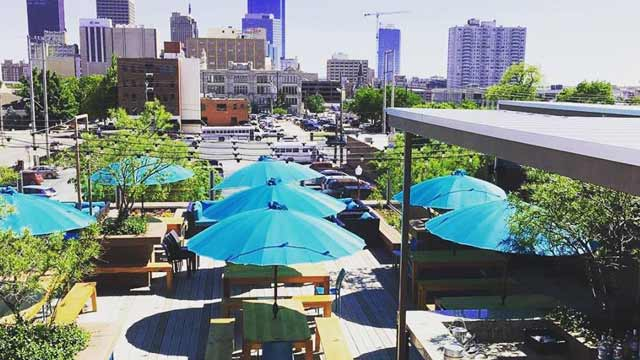 Packard S Rooftop Bar In Oklahoma City The Rooftop Guide