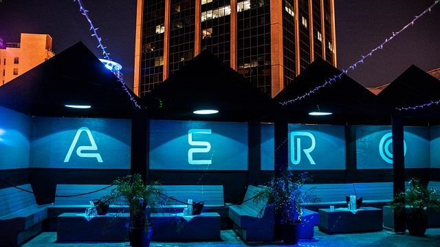 Rooftop Aero Rooftop Bar & Lounge Rooftop bar in Orlando