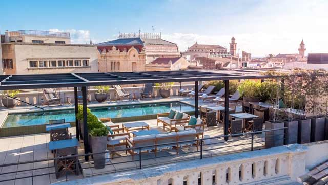 Singular Rooftop Terrace Rooftop Bar In Palma The