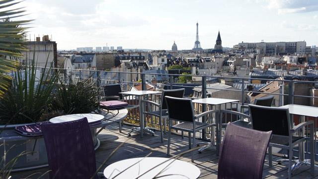 Rooftop bar Paris 43 Up On the Roof in Paris