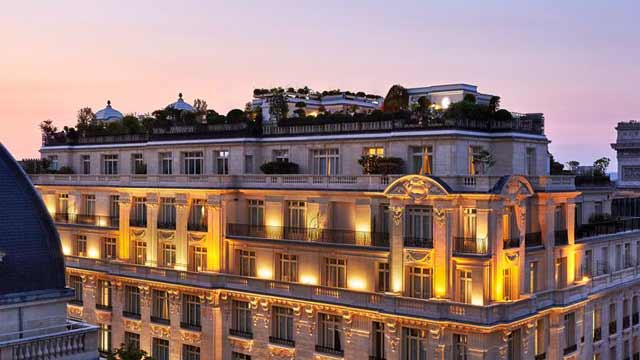 La Terrasse At Hotel Raphael Rooftop Bar In Paris The