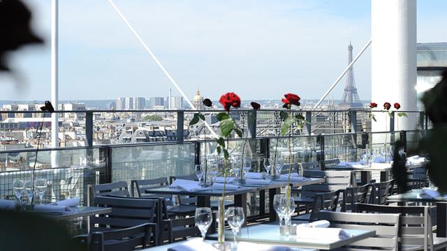 Le Georges At The Pompidou Rooftop Bar In Paris The