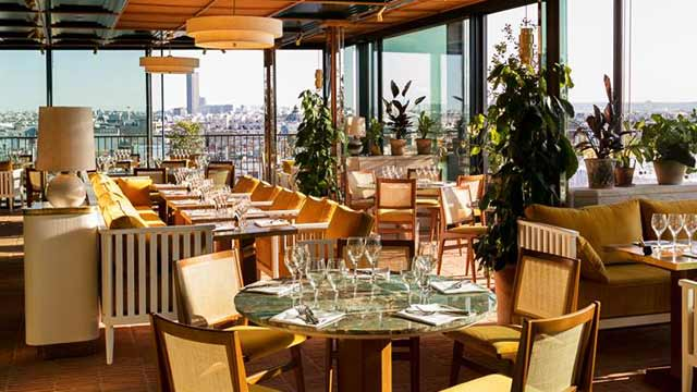 Perruche Rooftop Bar In Paris The Rooftop Guide