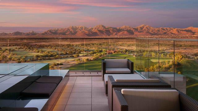 Rooftop bar Phoenix Degree 270 at Talking Stick Resort in Phoenix
