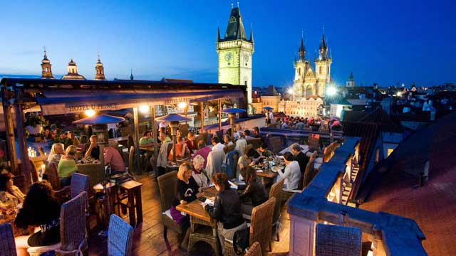Best Rooftop Bars In Prague 2018 Complete With All Info