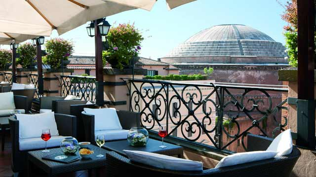 Minerva Roof Garden Rooftop Bar In Rome The Rooftop Guide