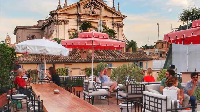 La Terrazza Del Cesari Rooftop Bar In Rome The Rooftop Guide