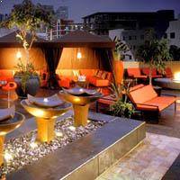 Rooftop bar San Diego Stingaree in San Diego