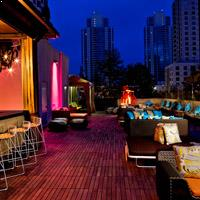The Rooftop bar San Diego at Renaissance Hotel