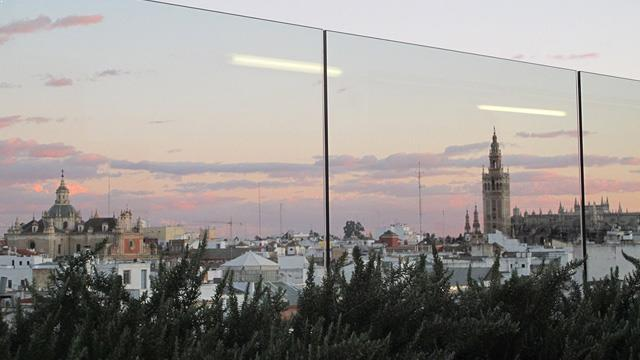 Rooftop bar Seville Gourmet Experience Duque in Seville
