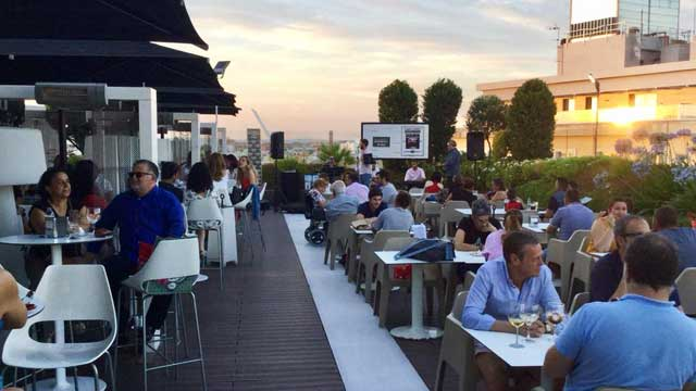 Gourmet Experience Duque Rooftop Bar In Seville The