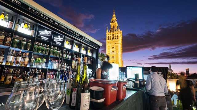 Terraza Hotel Doña María Rooftop Bar In Seville The