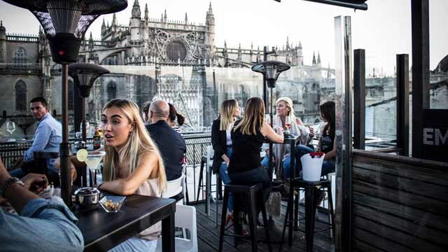 La Terazza De Eme Rooftop Bar In Seville The Rooftop Guide