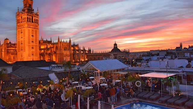 Pura Vida Terraza Rooftop Bar In Seville The Rooftop Guide