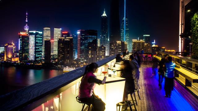 Char Bar At Hotel Indigo Rooftop Bar In Shanghai