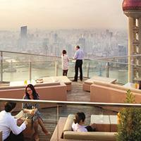 Rooftop bar Shanghai Flair at Ritz-Carlton in Shanghai