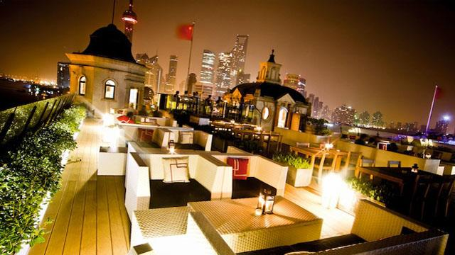 Swatch Art Peace Hotel Rooftop Bar In Shanghai