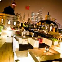 Rooftop bar Shanghai Swatch Art Peace Hotel in Shanghai