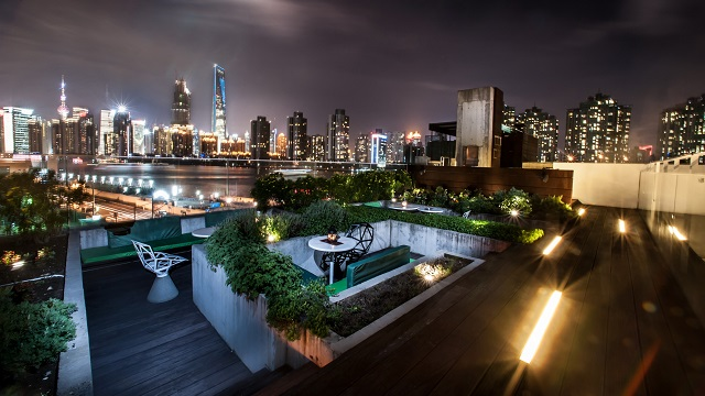 The Roof At Waterhouse Hotel Rooftop Bar In Shanghai