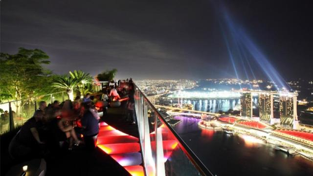 Rooftop bar Singapore Altitude in Singapore