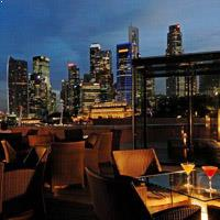 Rooftop bar Singapore Orgo Bar & Restaurant in Singapore